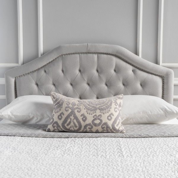 Best Killian Contemporary Fabric Full Queen Headboard By 400 x 300