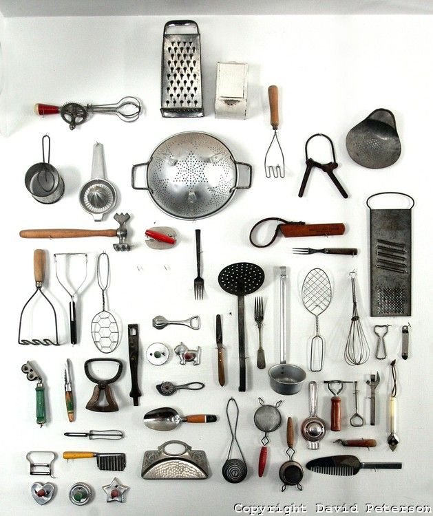 Antique Kitchen Tools This Would Be A Nice Display In An