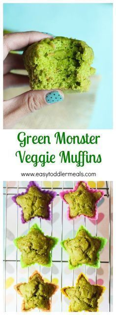 Green Monster Veggie Muffins