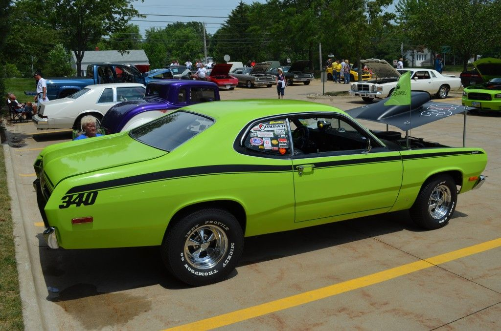 Plymouth Duster Spotted At The Mopar Show In Tallmadge Ohio