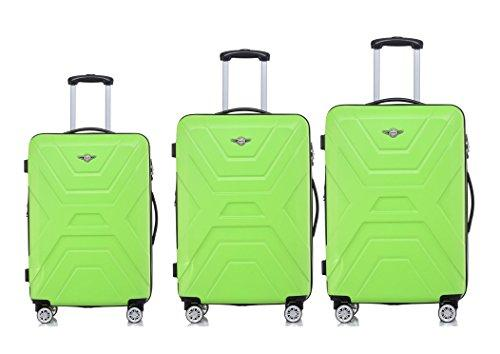 Rivolite New 3 Piece Lightweight Luggage Set20\