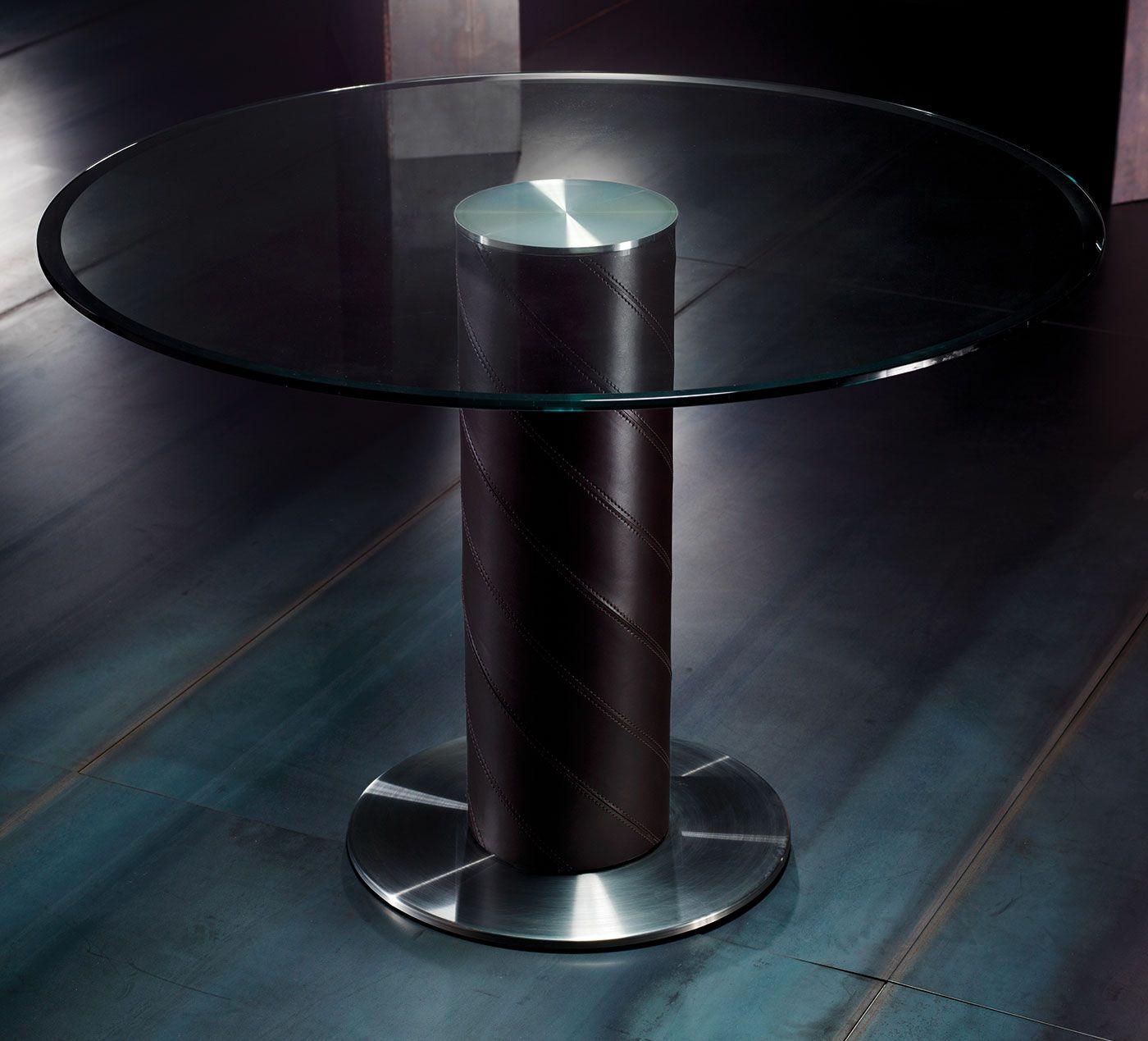 tavolo vetro temperato acciaio satinato trasparente prezzi ... - Arredamento Moderno Casa Prezzi