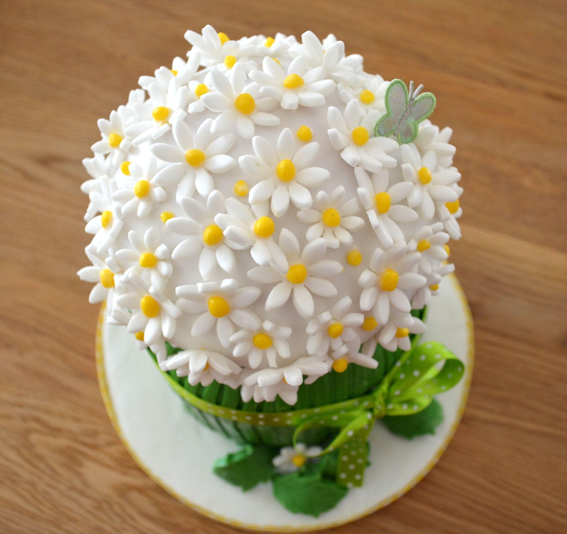 Springtime Daisy Cake