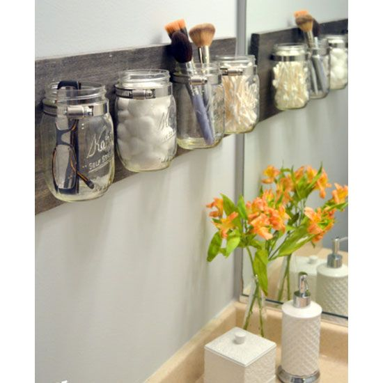 diy small bathroom storage ideas - Google Search