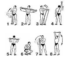 Комплекс упражнений с резиной