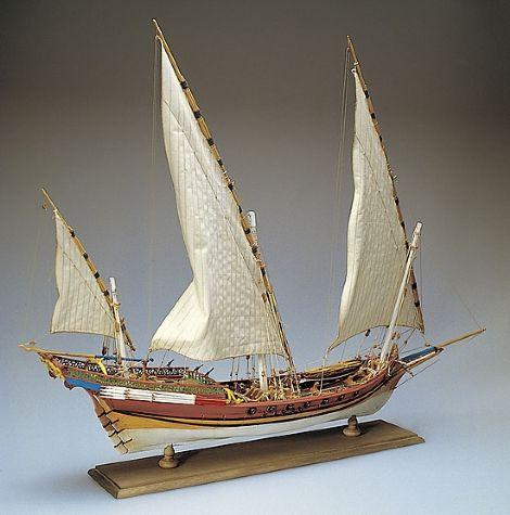 Ship Model Amati - Xebec | gemi hobi | Wooden model boat