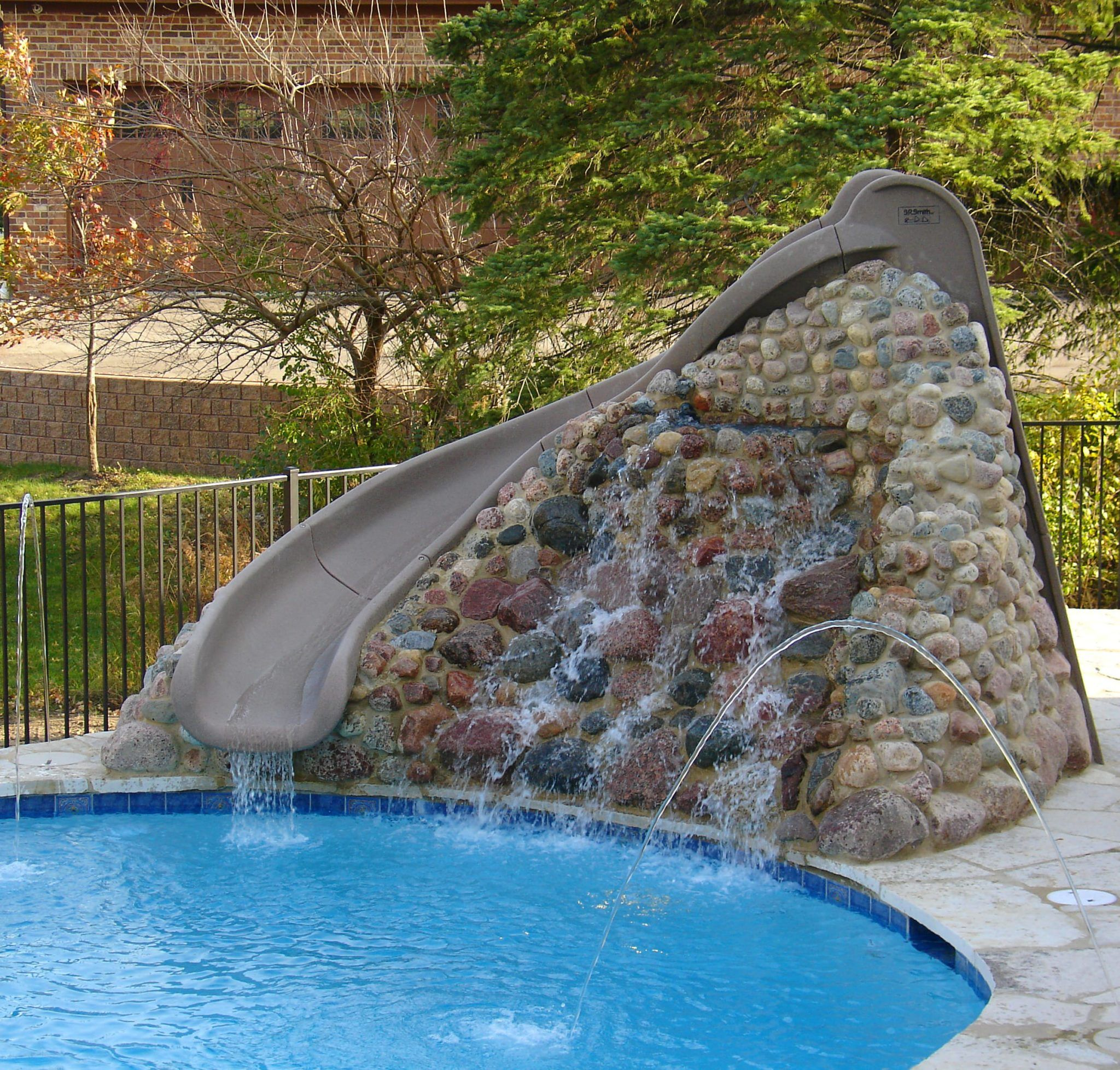 Image Result For Pool Slide Small Rock Hill To Top Swimming Pool