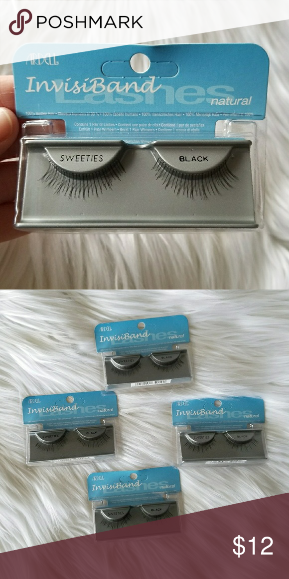 ded0cac6952 🖤Set of 4 Ardell Lashes - Sweeties Black🖤 NWT, adhesive not included,  price is firm. Retails 3.49 each Makeup False Eyelashes