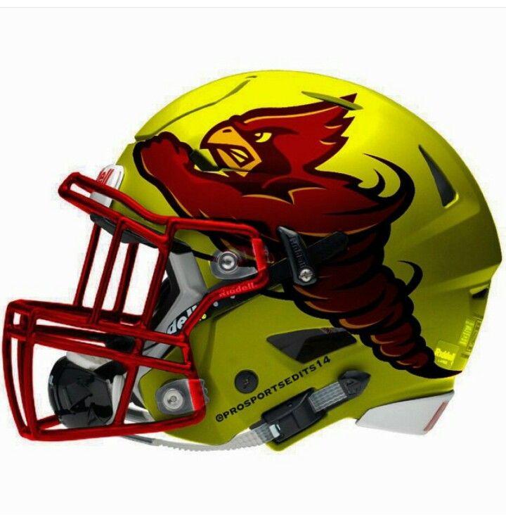 Iowa state cyclones college football helmets football
