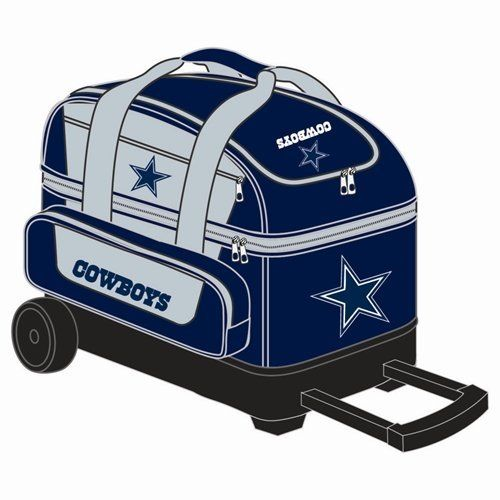 Nfl Double Roller Bowling Bag Dallas Cowboys By Kr 92 95 What A Great Bag For You Nfl Football Fa Dallas Cowboys Dallas Cowboys Decor Dallas Cowboys Crafts