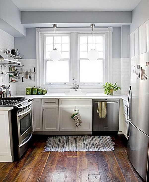 Design Ideas For Tiny Kitchens: 27 Space-Saving Design Ideas For Small Kitchens