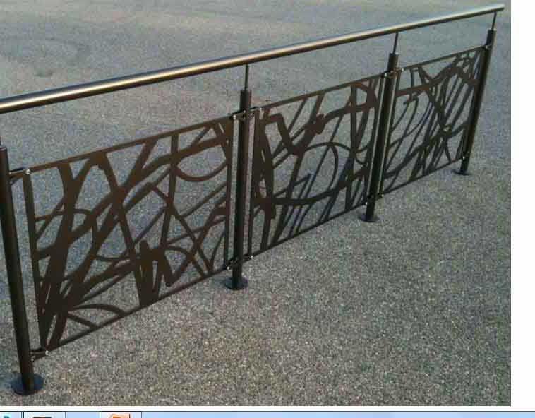nos garde corps - escalier design 14 : garde-corps extérieur