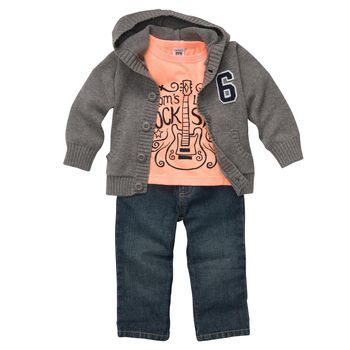 Rock Star baby,dont know if daddy jesse would let it wear that color,but lala will!