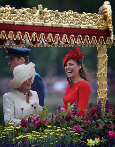 Queen Elizabeth's Diamond Jubilee: Kate Middleton, Prince William, and More (Photos) - The Daily Beast