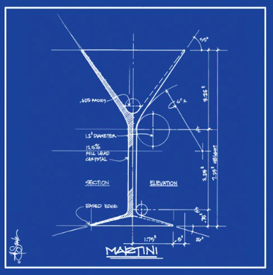 Barchitecture Martini Napkins By Paper Products (With