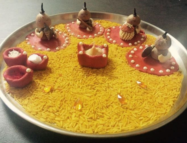 Aarti Thali Decoration Ideas For Ganpati Thali Decoration Ideas