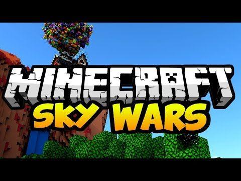 MINECRAFT SKYWARS GAMEPLAY ESPAÑOL YouTube Mine Pinterest - Minecraft skywars spiele
