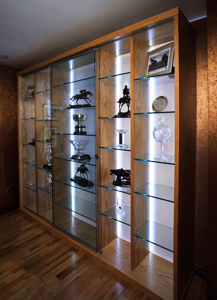 Floor To Ceiling Led Lighting In 2019 Trophy Display