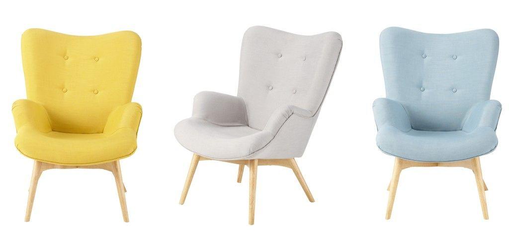 Fauteuil iceberg maisons du monde 2014 furniture x objets d co pinterest - Maisons du monde fauteuil ...