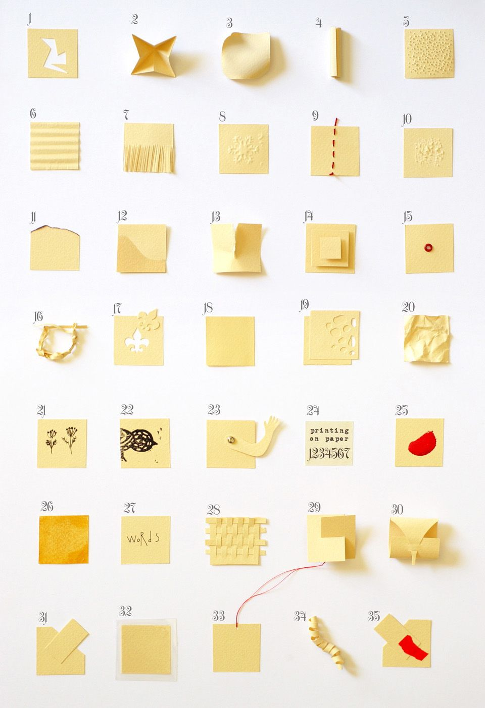 35 Things To Do With Paper Paper Stuff Paper Art Paper Crafts