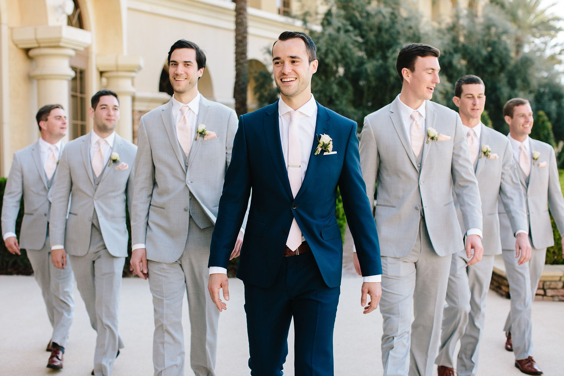 Las Vegas Wedding Planner Navy Blue Wedding Wedding Groomsmen