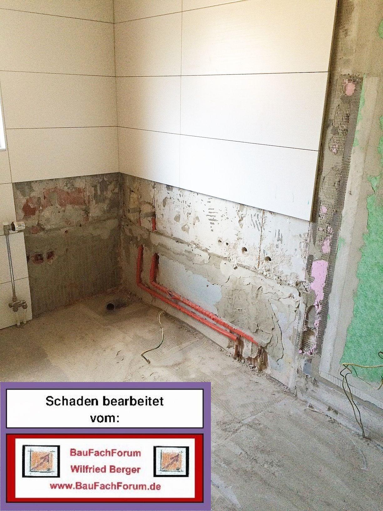Baufachforum Schaden Sachverstandiger Wilfried Berger Schaden Bad Abdichtung Neue Din 18531 Bis 18535 Sachverstandiger Gutachter Facher Fortbildung Ulm