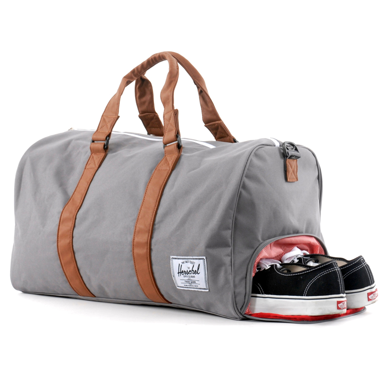 73641f73d5c2 Herschel Novel Duffle Bag - side zippered shoe compartment Available at  Little Burgundy
