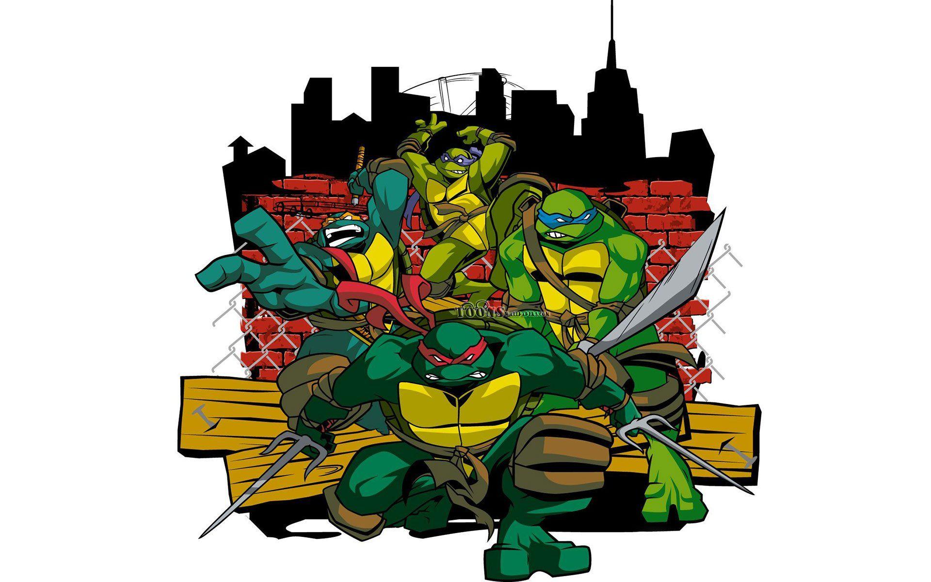 Download Ninja Turtles Cartoon Pictures Wallpaper Full 1920x1200 49 Wallpapers