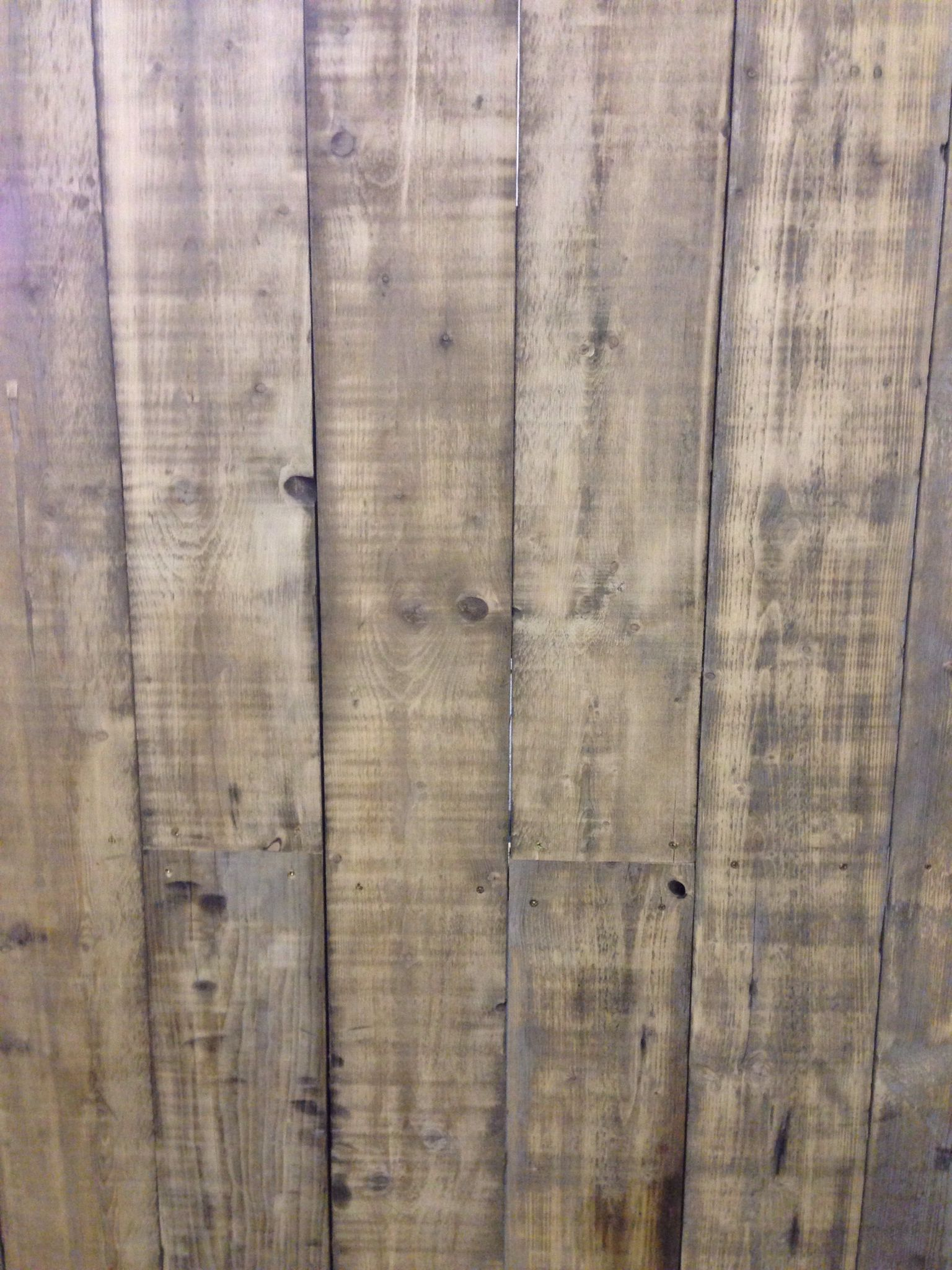 Wall made from scaffold planks house stuff pinterest for Recycled wood board