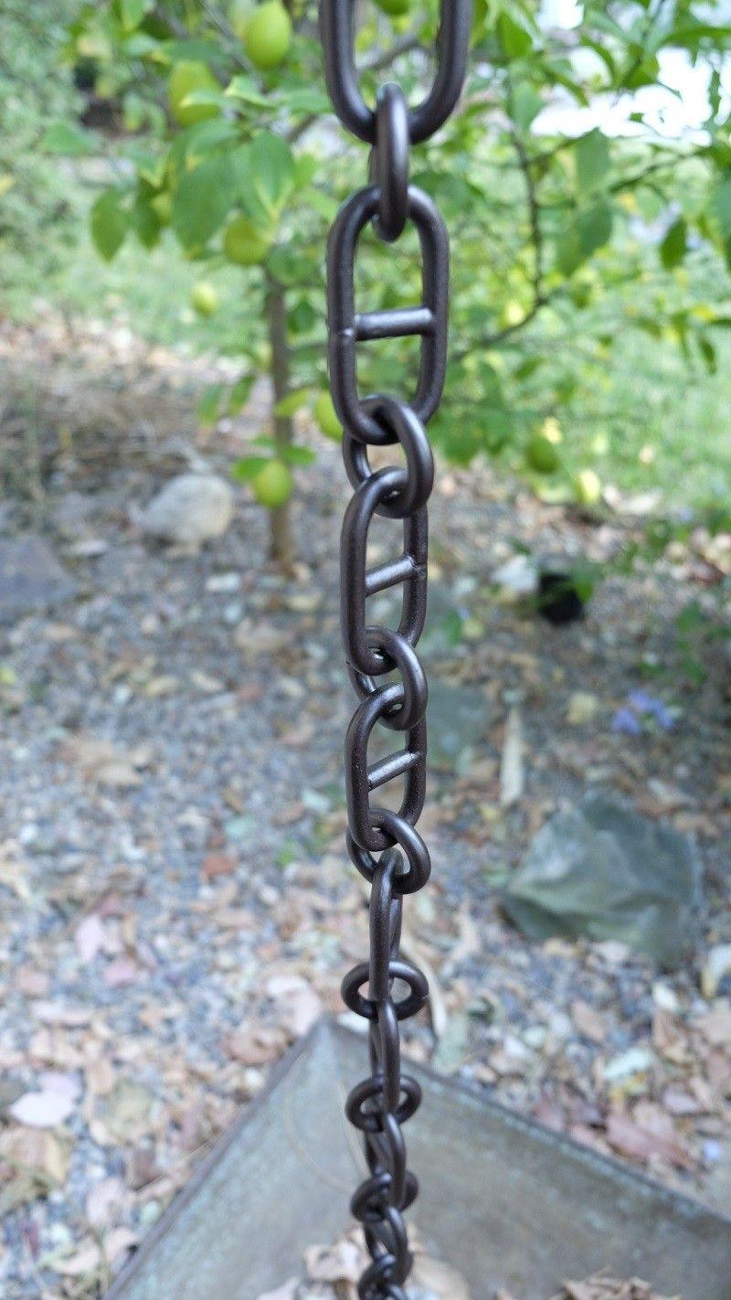 Bronze Aluminum Anchor Rain Chain Rain Chain Gutter Chains Aluminum Rain Chains
