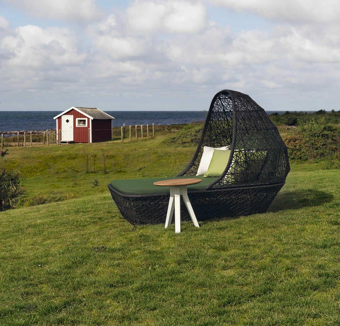 Contemporary suspended garden chair by Patricia Urquiola - MAIA - KETTAL - Videos