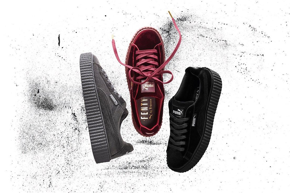 Rihanna's Puma Creepers In Three New Colorways Available Now