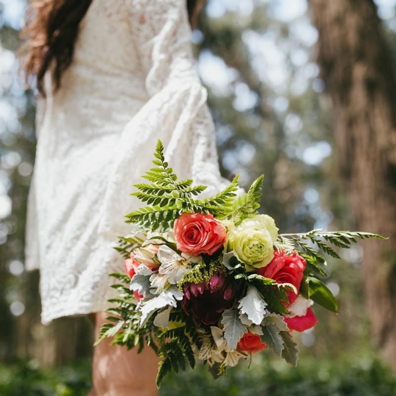 Free Spirit Bridal Bouquet BeMyRose Wedding Flowers
