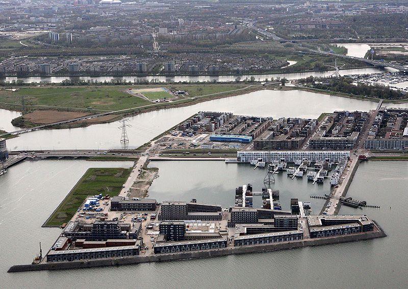 Wonen In Ijburg : Drijvend wonen in ijburg amsterdam abc arkenbouw hydro urbane