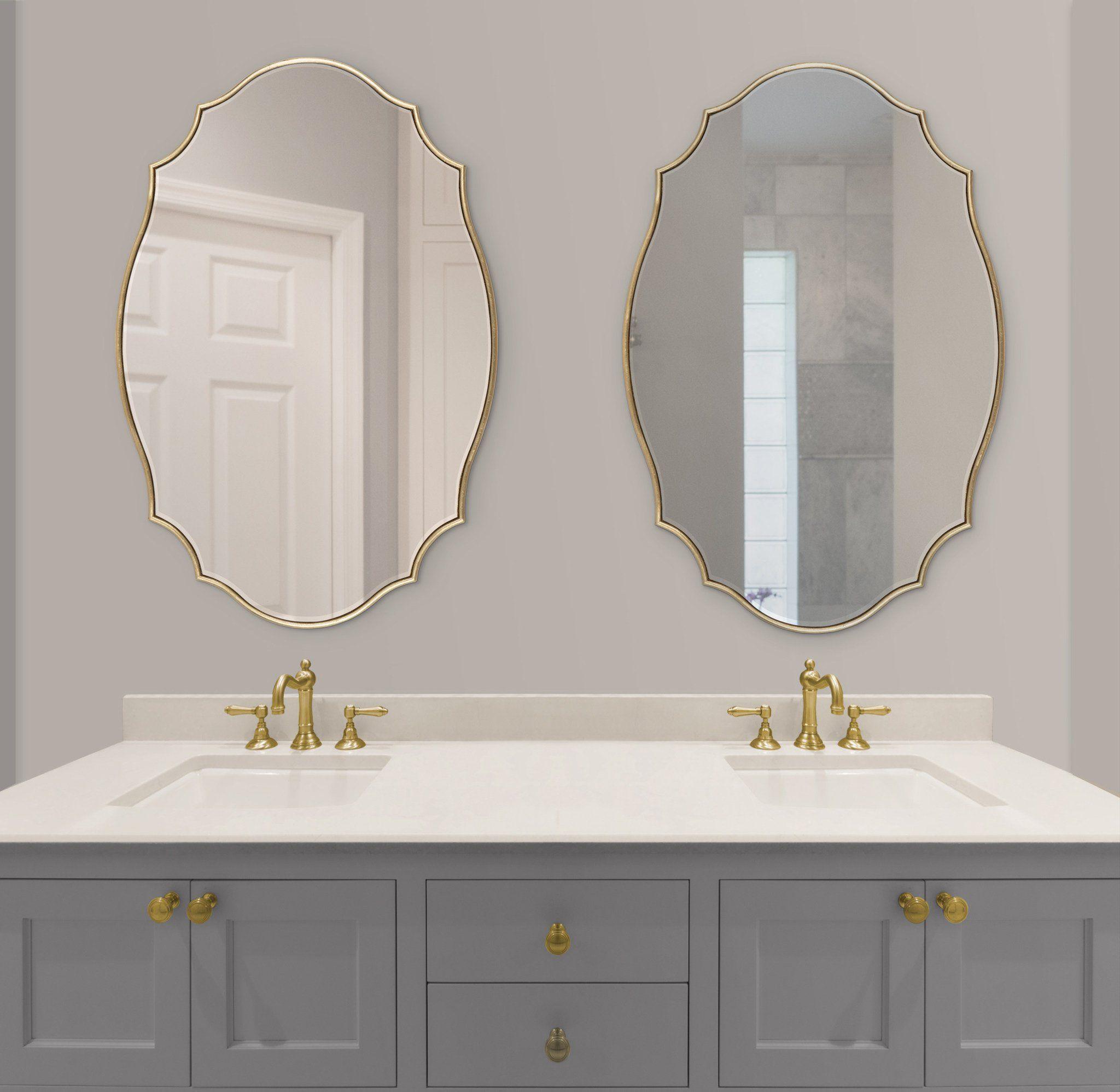 40+ Bathroom vanity mirror gold ideas
