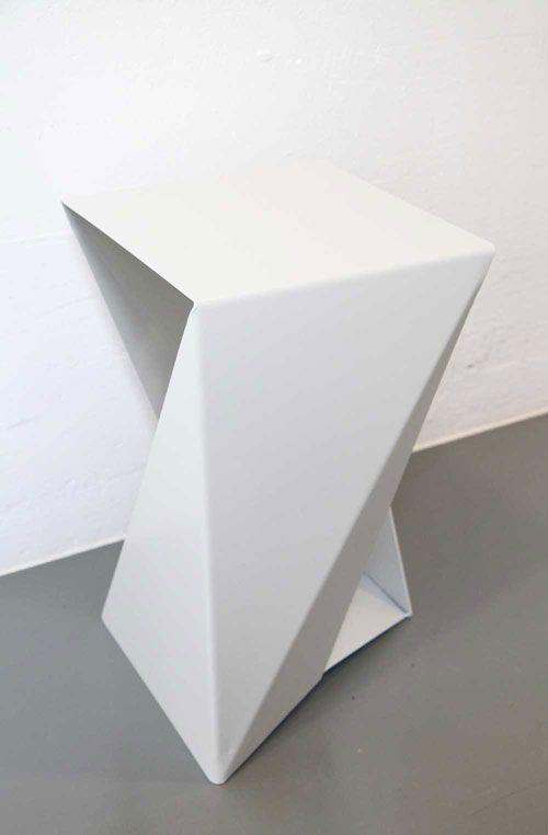 Bent Aluminium Ans Steel Stools Www Jade Moyse Co Uk Interior Architecture Design Paper Architecture Metal Design