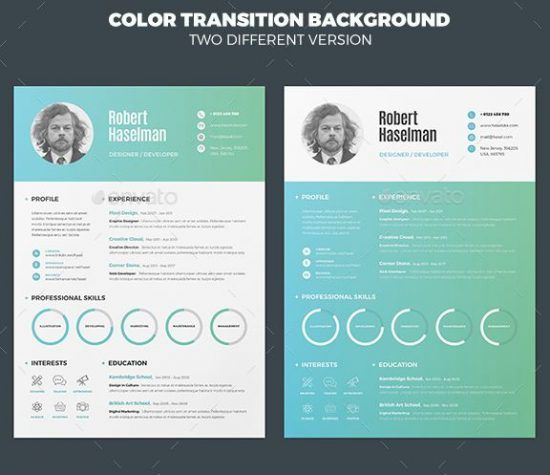25+ Best Creative Resume For Graphic Designers (PSD File \ Ideas - Best Graphic Design Resumes