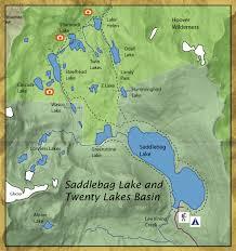 Saddlebag Lake and Twenty Lakes Basin - Central Valley ...