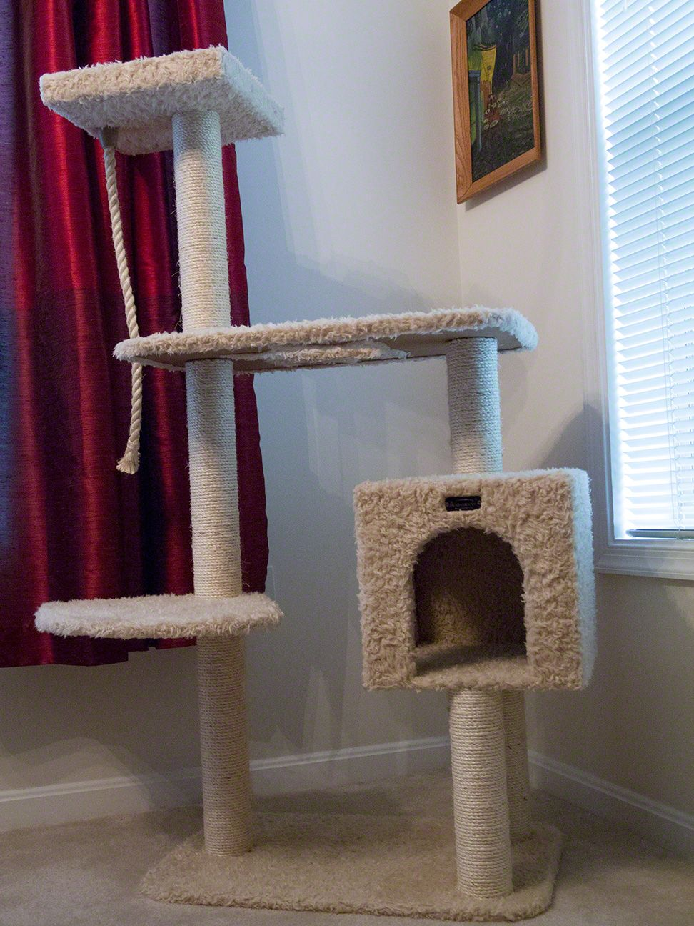 Simple cat towers the image kid has it for How to build a simple cat tree