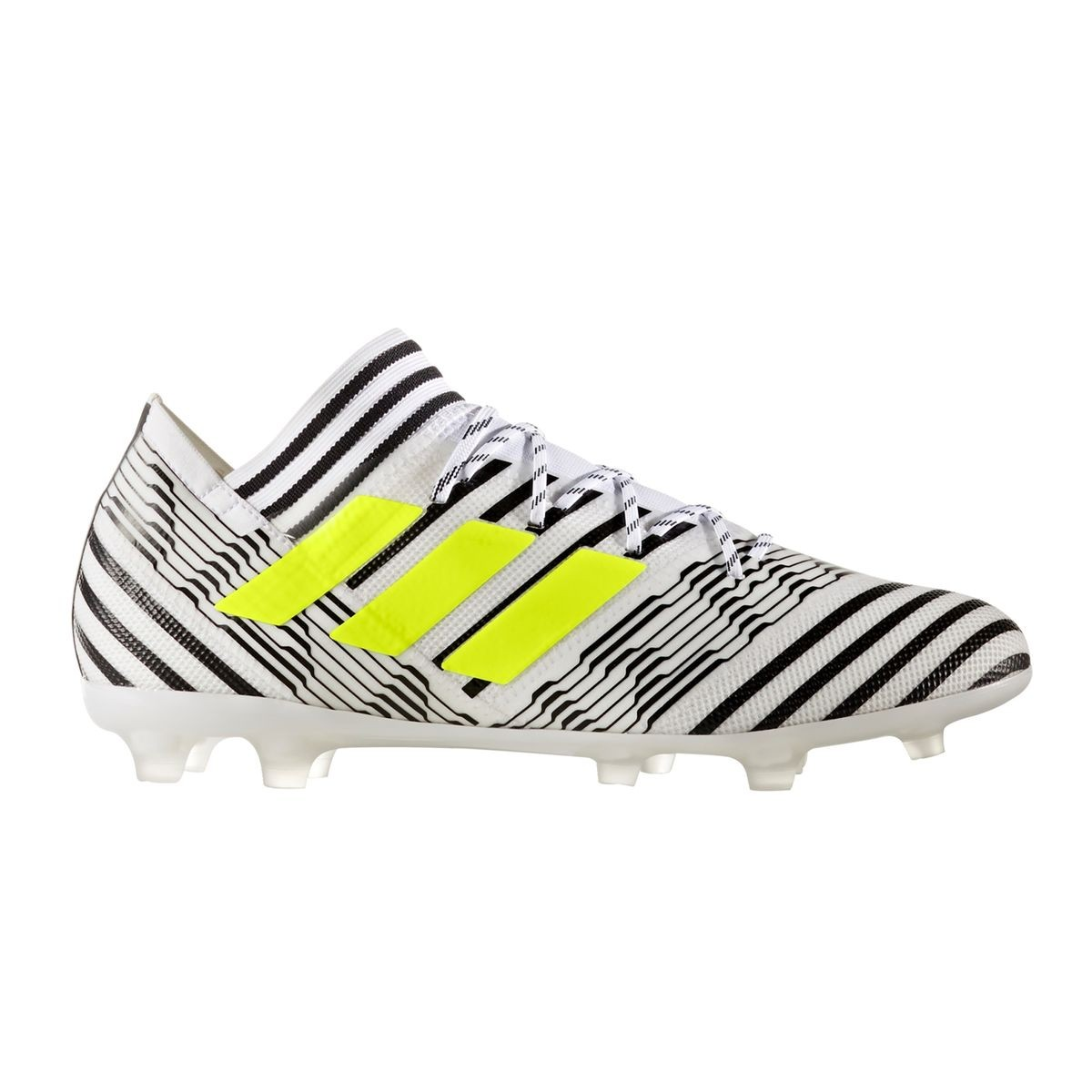 chaussures foot adidas fg noir adulte