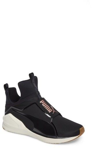 puma fierce high top sneaker