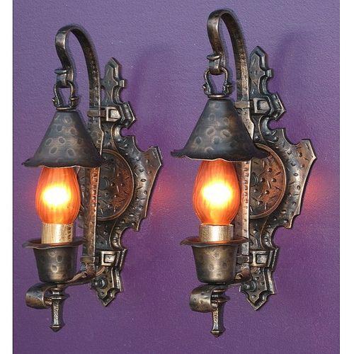 Vintage Revivals Light Fixture: *Vintage Spanish Revival Wall Sconces