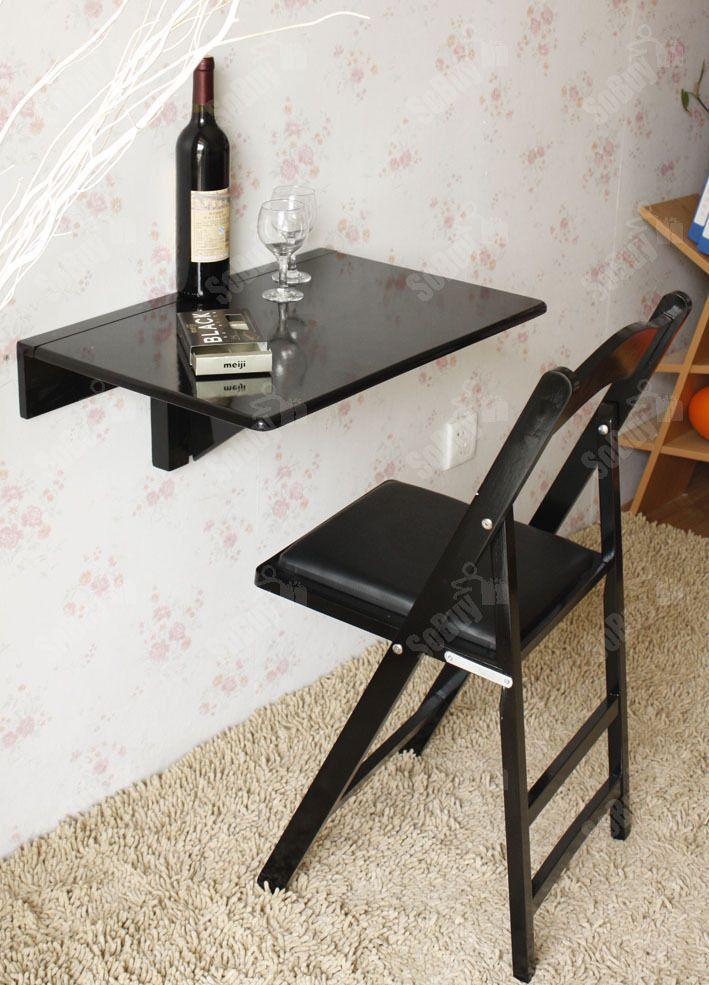 SoBuy Wandklapptisch,Küchentisch,Esstisch,Kindermöbel, 60cm x 40cm ...