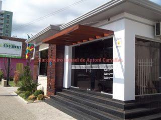 Modelo de Pergolado para Porta dos Fundos.  Site: http://ismaelantoni.blogspot.com.br/p/pergolados.html