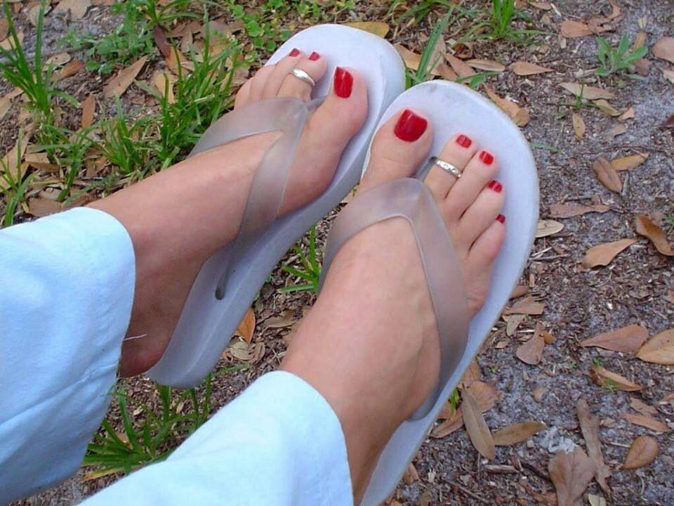 Feet & Sandals   Long toenails, Purple pedicure, Beautiful