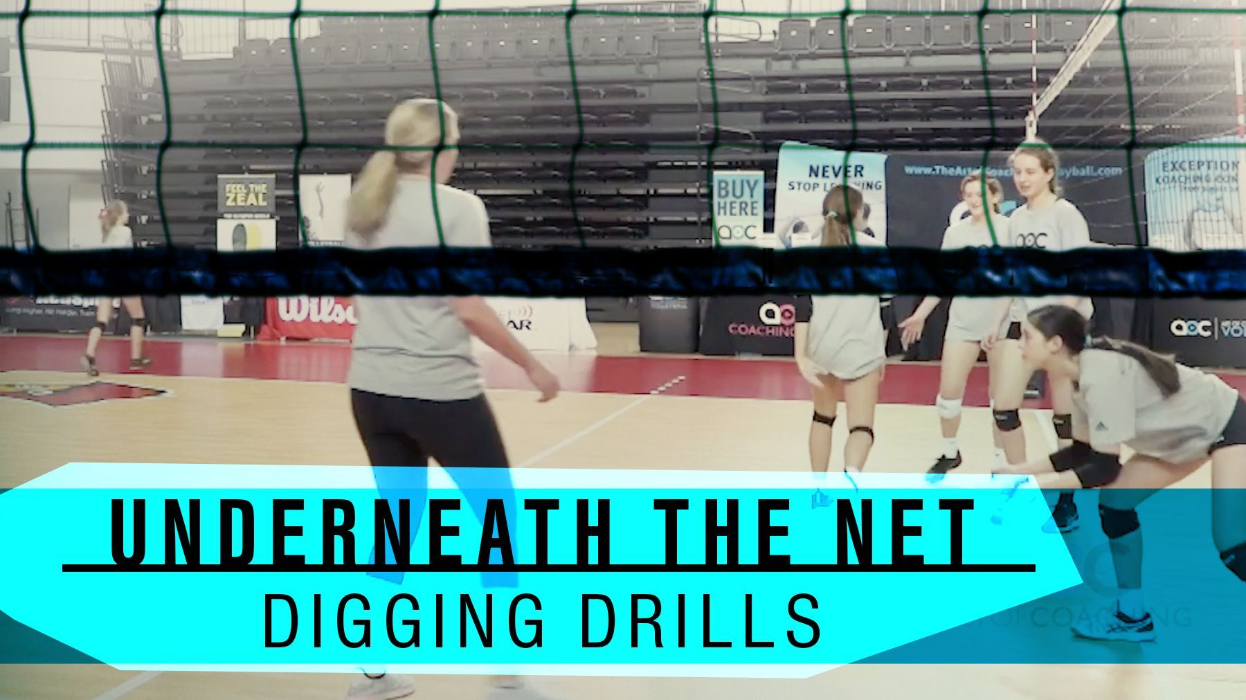 Underneath The Net Digging Drills The Art Of Coaching Volleyball Volleyball Drills Volleyball Workouts Coaching Volleyball