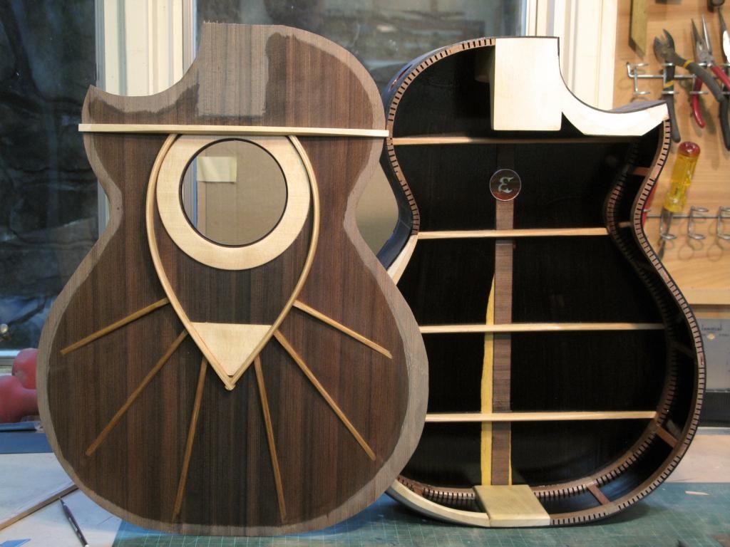 New Edwinson Build The Acoustic Guitar Forum Guitar Design Guitar Building Luthier Guitar