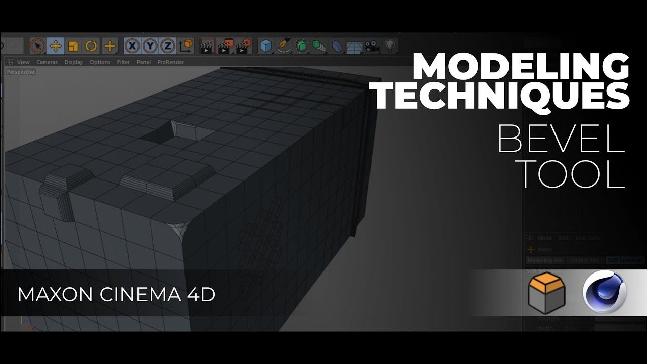 Cinema 4D: Modeling Techniques #2 Bevel Tool | 3D Modeling