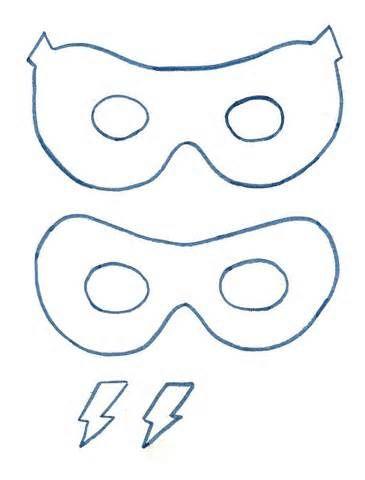 Teenage Mutant Ninja Turtle Mask Pattern