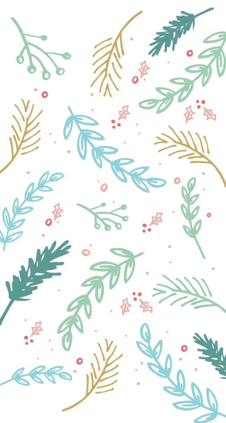 Winter Pattern Iphone Wallpaper Holiday Iphone Wallpaper